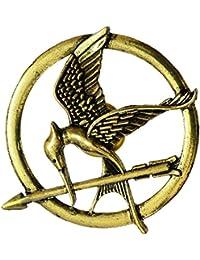 Mahi The Hunger Games Brooches Inspired Mockingjay and Arrow Movie Bird Brooch Pins Unisex (Medium Size) BP1101003G