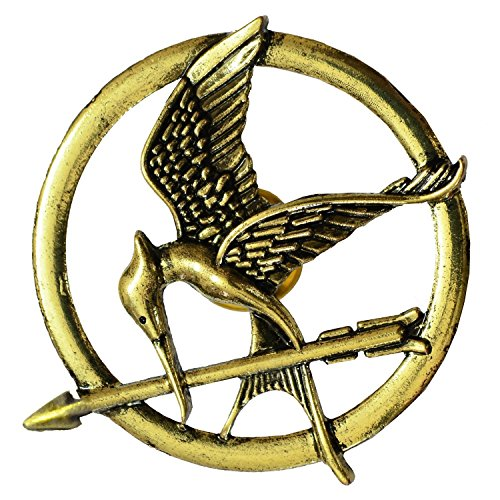 Mahi The Hunger Games Brooches Inspired Mockingjay And Arrow Movie Bird Brooch Pins Unisex (Medium Size) BP1101003G  available at amazon for Rs.273