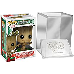 Funko Pop Guardians Of The Galaxy: Holiday Dancing Groot + FUNKO PROTECTIVE CASE