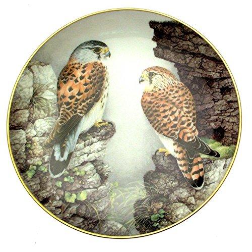 Limoges Haviland-Old World Kestrel Teller Wild Birds of The World Wilhelm beuhler Franklin Teller