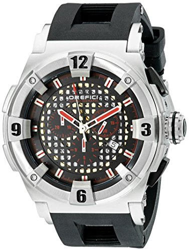 Orefici Unisex ORM14C4811 Analog Display Quartz Black Watch