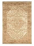 Linon Platinum Heriz Innen Bereich Teppich, Polyester, beige/cremefarben, 8 x 11