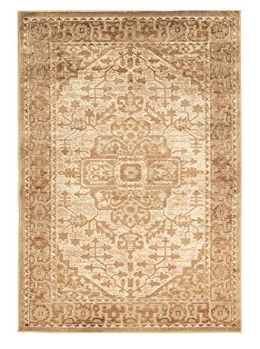 Linon Platinum Heriz Innen Bereich Teppich, Polyester, beige / cremefarben, 8 x 11