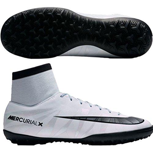 Nike mercurial x victory vi cr7 df tf 903612, scarpe da calcio uomo, blau schwarz-weiß-blauton 401, 44 ue