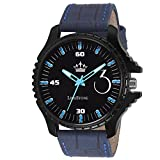 #4: LimeStone Free Size Casino Fox Series Analog Watch For Men's / Boy's - (LS2690)