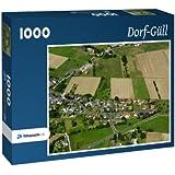 Dorf-Güll - Puzzle 1000 Teile mit Bild von oben