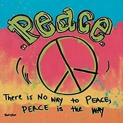 "Impresión artística / Póster: Tava Luv ""Peace"" - Impresión de alta calidad, foto, póster artístico, 30x30 cm"