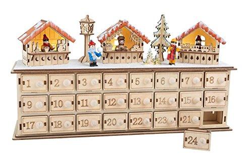 Calendario Legno Bambini.Ld Decorazioni Di Natale Calendario Dell Avvento Natale