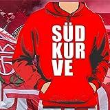 World of Football Bayern Kapuzenpulli Südkurve Block - M