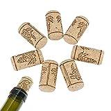 ICYANG 20 Teile/los Weinkorken Naturkorken Weinflaschenverschluss Dichtkappen Flasche Getränke Kork Stopfen Holz Stecker Bar Werkzeuge, 40 * 20mm
