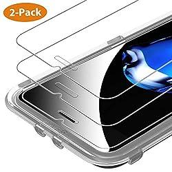 Syncwire Schutzfolie Kompatibel mit iPhone 8 Plus iPhone 7 Plus, [2 Stück] HD 3D-Touch Panzerglasfolie 9H Härte 2.5D Displayschutzfolie Ultra-klar Panzerglas für iPhone 7 Plus/6S Plus/8 Plus