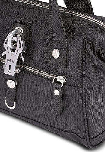 George Gina & Lucy Frameboy Handtasche 26 cm Schwarz