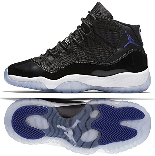best authentic 40862 c34c4 Nike Air Jordan 11 Retro Basketball Shoes,Multicolored (Black   Concord  White),