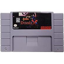 Rishil World Castlevania Dracula X 16 Bit Game Cartridge Card For SFC SNES NTSC System
