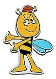 Magnet - Willi - die Biene Maja - aus Holz für Kinder - Kinderzimmer Kühlschrankmagnet / Kindermagnet Holzmagnet Magneten - Honig Bienen
