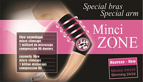 MinciTextil Textile Intelligent Minceur Bras - MinciZone - Noir, M(38-40)