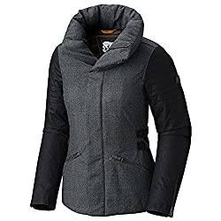 Sorel Joan Of Arctic Womens Jacket - Mediumcharcoal Heather-black