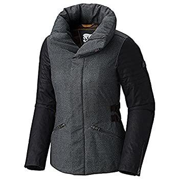 Sorel Joan Of Arctic Womens Jacket - Mediumcharcoal Heather-black 0