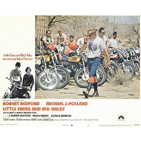 Little Fauss and Big Halsy Poster (11 x 14 Inches - 28cm x 36cm) (1970) Style C