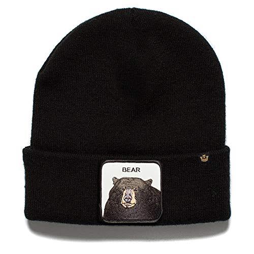 Goorin Bros. Unisex Beanie Knit Hat 107 Cave Boy Black One size Goorin Kids Hat