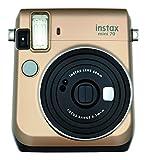 Fujifilm Instax Mini 70 - Cámara analógica instantánea (ISO 800, 0.37x, 60 mm, 1:12.7, Flash automático, Modo autorretrato, exposición automática,...