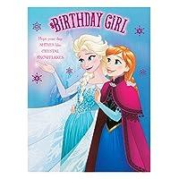Hallmark Disney Frozen Birthday Card