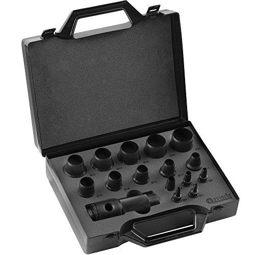 Peddinghaus Handwerkzeuge Vertriebs GmbH 8004309001 LOCHEISENSATZ 3-30MM 16TLG, schwarz, ø 3 à 30 mm