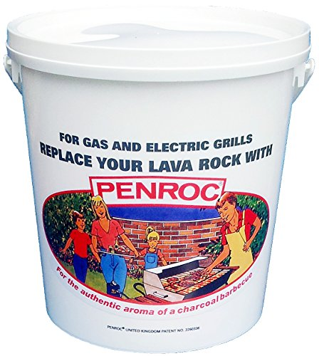 PENROC 6 Litre tub Lava Rock (Lavasteine) Replacement Ceramic Briquettes