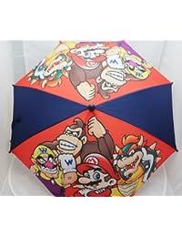 Super Mario - Nintendo - Paraguas - con Bowser y Wario, niños notebookbits regalo juguetes nin347
