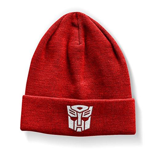 Preisvergleich Produktbild Offizielles Lizenzprodukt Transformers Autobot Beanie (Rot)