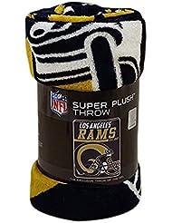 Northwest Los Angeles Rams Super Plush NFL Couverture