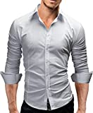 Merish Camicia Uomo Slim Fit 14 Colori Taglia - Best Reviews Guide