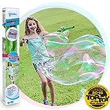 WOWMAZING Große Blase Zauberstab Kit: 3-Teiliges Set | Inkl. Große Blase Zauberstab, Riesige Blase Konzentrat und Tipps & Tricks Broschüre | Outdoor-Spielzeug für Kinder, Jungen, Mädchen