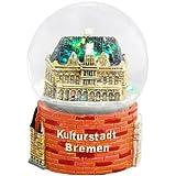 30007 Schneekugelhaus Snowglobe Bola de Nieve como Souvenir de la Ciudad Bremen