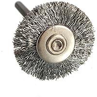 KUNSE Acero/Alambre De Cobre Cepillo De Alambre De La Rueda Cepillo para Amoladora Herramienta Rotativa Dremel Herramienta De Pulido-#002