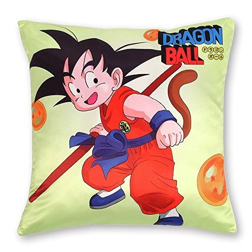 Funda de Almohada 50x50 con Tema de Dragon Ball: Son Goku