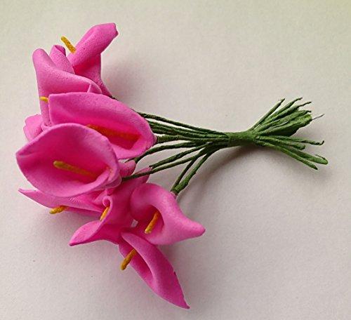 Unbekannt Kunstblumen Scrapbooking Blumen Dekoblumen Steckblumen