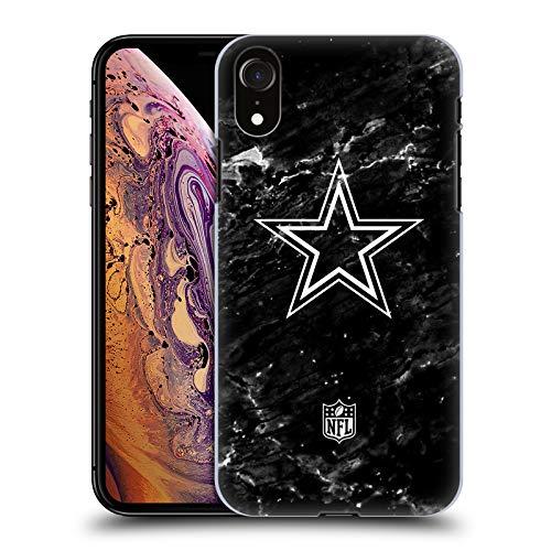 Head Case Designs Offizielle NFL Marmor 2017/18 Dallas Cowboys Logo Harte Rueckseiten Huelle kompatibel mit iPhone XR -