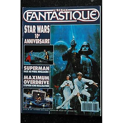 L'écran fantastique n° 86 * 1987 * STARWARS SUPERMAN MAXIMUM OVERDRIVE Stephen King