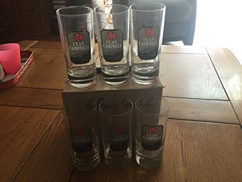lot-de-6-verre-a-whisky-clan-campbell-tube-neuf