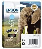 Epson T2425 Tintenpatrone Elefant, Singlepack, hell cyan