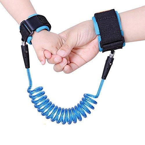 Capol Baby Sicherheitsleinen KinderAnti-Verloren Wrist Band Kinder Sicherheit Handgelenk Link(2,5m,Blau)
