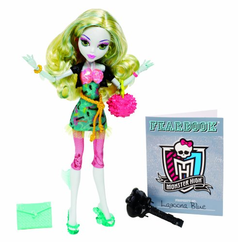 Monster High-bbj72-Puppe Ankleidepuppe-Picture Day-Lagoona (Monster High Puppe Picture Day)