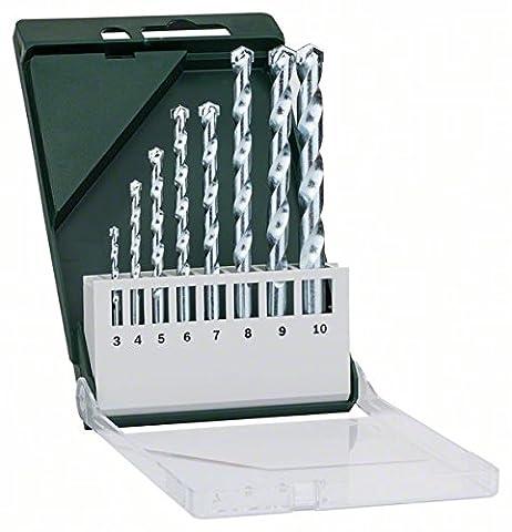 Bosch 2609255462 Set de forets 8 pièces (Punta Di Pietra)