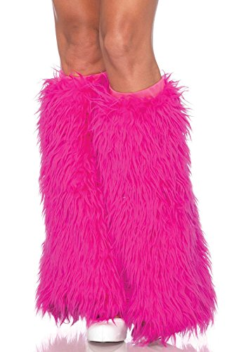 Leg Avenue 3934 - Furry Leg Warmers, Einheitsgröße (Furry Kostüme Amazon)