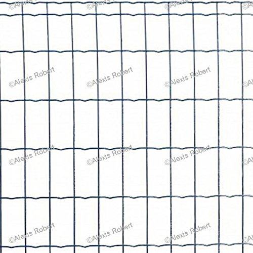 Wellengitter, Kunststoff beschichtetes geschwei TES anthrazit Pantanet Family (2,50/2,50–100x 50–1–25)