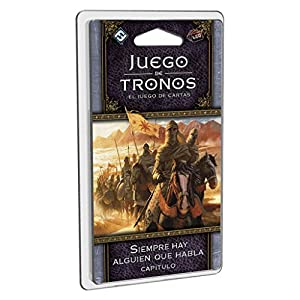 Fantasy Flight Games- Juego de Tronos lcg: Siempre Hay Alguien Que Habla - español, (FFGT28)