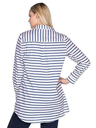 sheego Casual Femmes Tunique longue Grande taille nouvelle collection Bleu