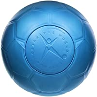 One World Play Project - Balón de fútbol indestructible - No explota, ni se rompe ni se deshincha - Material no tóxico - Azul - Tamaño 4