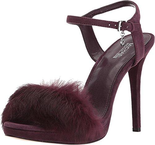 Michael Michael Kors Faye Ankle Strap Sandals, Damson Suede